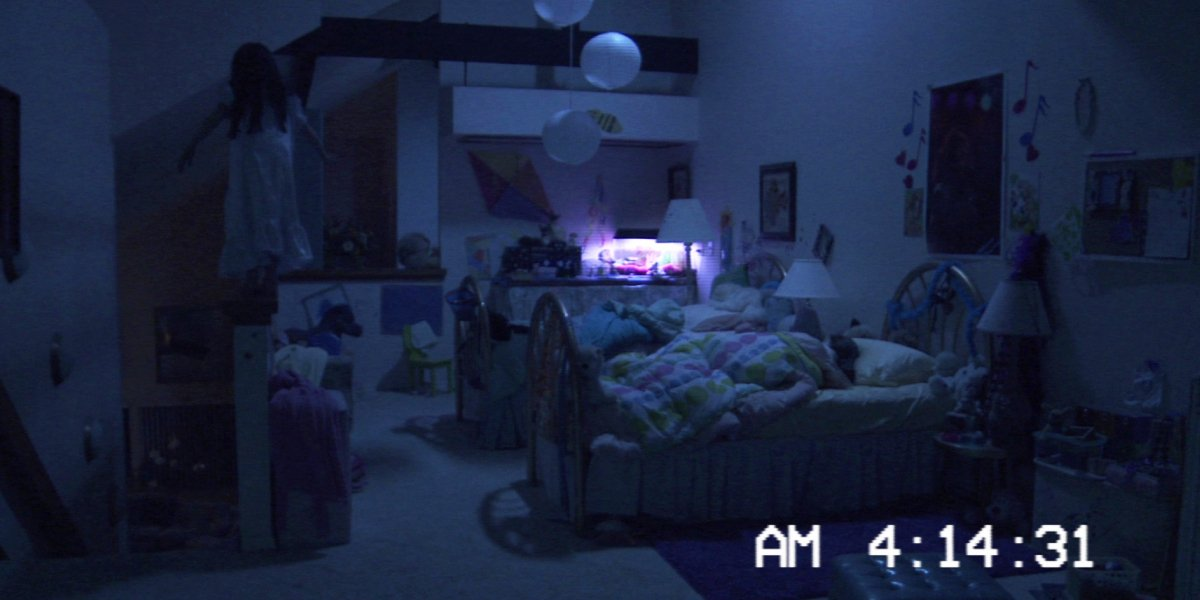 The doomed sisters from Paranormal Activity 3