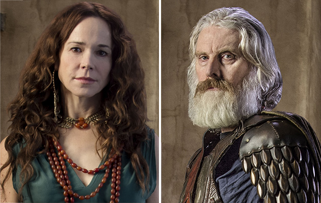 Troy stars David Threlfall and Frances O'Connor: 'It's really fun to play a royal couple'