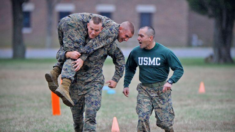 US marines fitness test