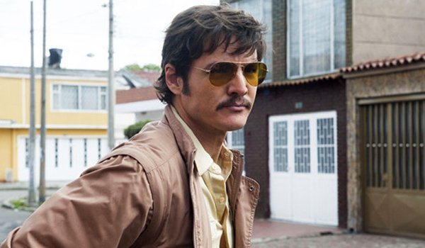 Pedro Pascal as Agent Javier Pena in Narcos
