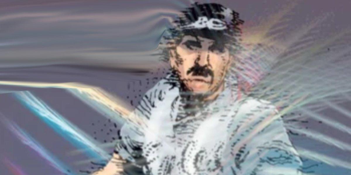 Mutant baseball player Tony Robb