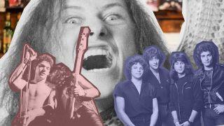 Iron Maiden, Praying Mantis and Cronos from Venom
