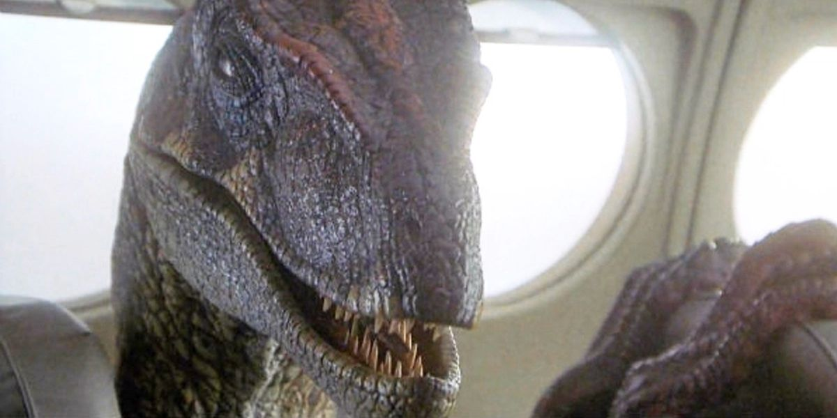 Jurassic Park 3's talking raptor