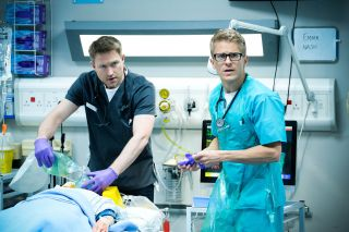 Ethan Hardy reunites with Cal Knight when Casualty returns to 2016 for its 35th anniversary special.