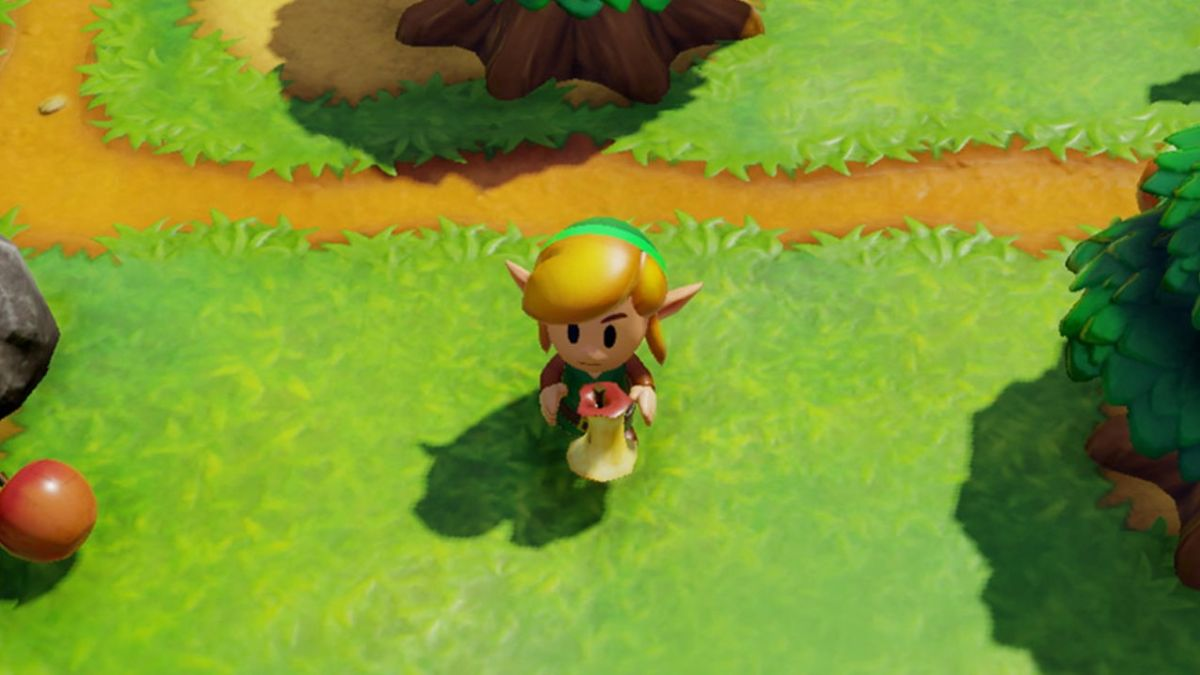 Drop everything and watch 30 minutes of Zelda: Link's Awakening gameplay footage