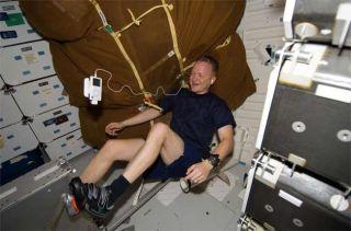 Space Exercise Bike Breaks Down
