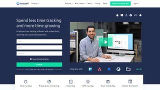 Hubstaff employee monitoring software
