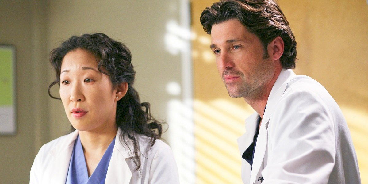 Grey's Anatomy Patrick Dempsey and Sandra Oh Doctor Message