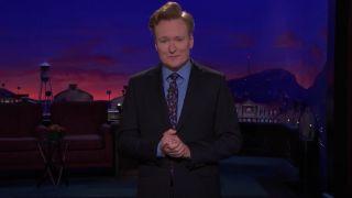 Conan O'Brien gives his 4,000 monologue on Conan