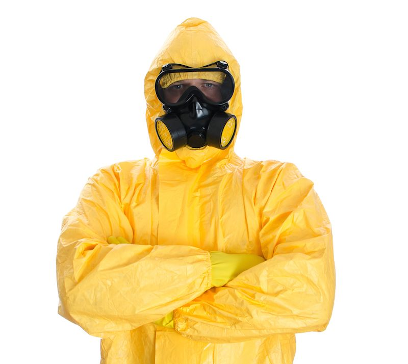 Ebola Outbreak Do Hazmat Suits Protect Workers Or Just Scare Everyone Live Science