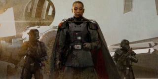 "Giancarlo Esposito's ex-Imperial character Moff Gideon makes his long-awaited appearance in Episode 7, titled ""The Reckoning."""