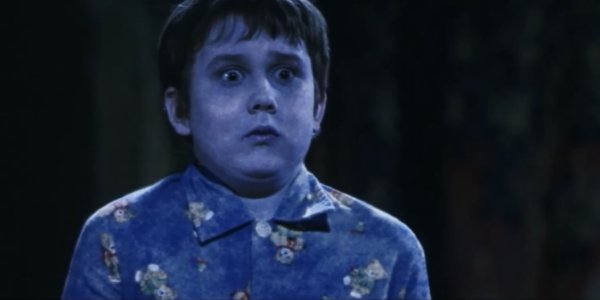 A fully paralyzed Neville Longbottom (Matthew Lewis) in Harry Potter and the Sorcerer's Stone