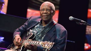 The late B.B. King