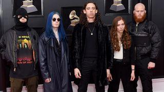 Code Orange arrive at last weekend's Grammys in New York