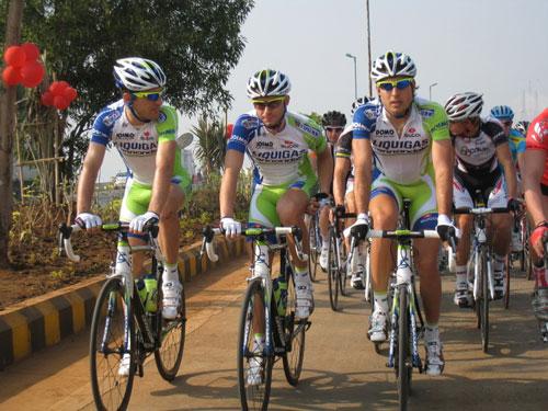 Liquigas-Cannondale, Tour de Mumbai 2011