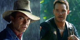 Jurassic World: Dominion's Sam Neill And Chris Pratt Caught Up Over The Holidays To Support Giving