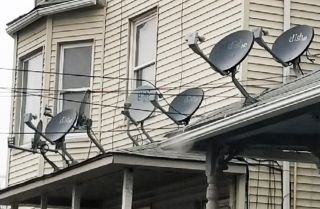 How'd you like yet another satellite dish mounted on your cluttered rooftop? DirecTV knows a guy who knows a guy who can get 'er done