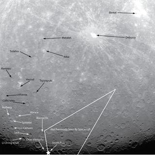 Mercury Photos From NASA's Messenger Probe   Space