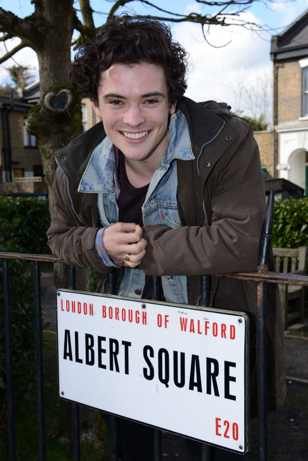 Jonny Labey as EastEnders' Paul Coker