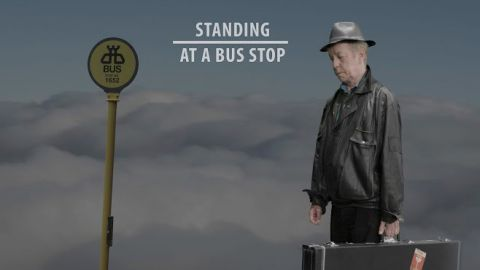 Cover art for Eric Bell - Standing At A Bus Stop album