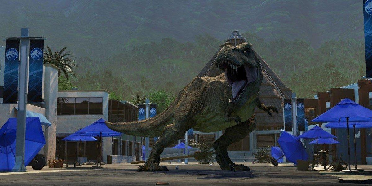 A T-Rex Jurassic World: Camp Cretaceous netflix
