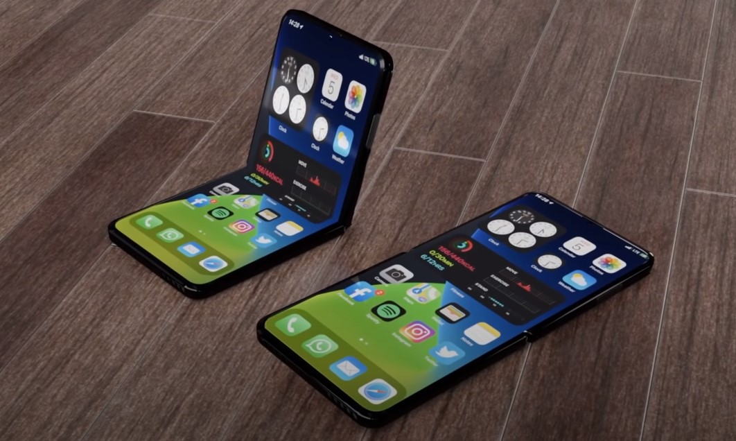 Stunning Iphone 12 Flip Video Reveals The Foldable Phone Of The Future Tom S Guide