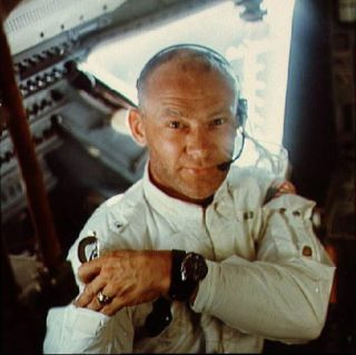 Aldrin Lunar Module in this July 1969