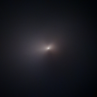 The Hubble Space Telescope captured this image of Comet NEOWISE on Aug. 8, 2020, after the object's close approach to the sun.