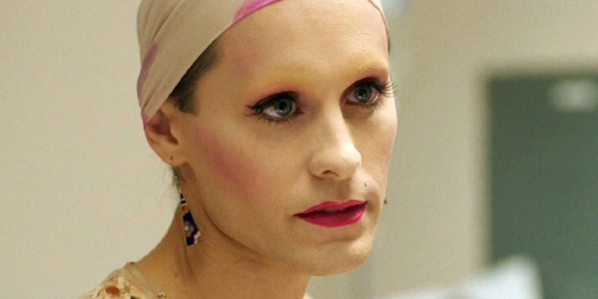 Jared Leto as Rayon in Dallas Buyers Club.