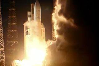 'Albert Einstein' Automated Transfer Vehicle Launch