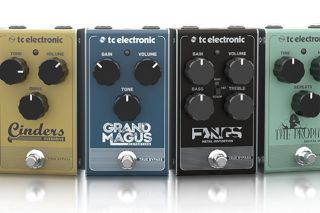 tc electronic announces 13 new affordable studio quality pedals guitarworld. Black Bedroom Furniture Sets. Home Design Ideas