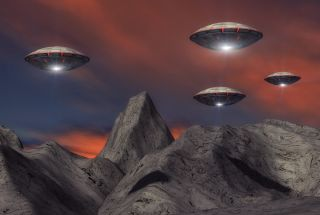 An invasion of Earth by alien flying saucers is a trope of science fiction. But what if aliens really did find us?