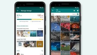 WhatsApp storage management