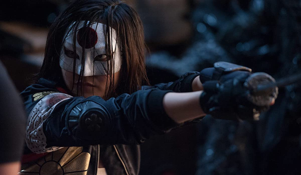 Karen Fukuhara as Katana in Suicide Squad