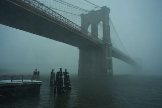 brooklyn bridge, scary, new york city