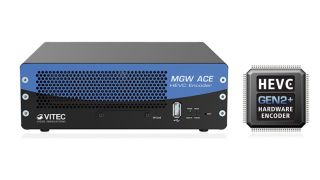 Powered by the VITEC HEVC GEN2+ codec, the MGW Ace solution delivers 16-millisecond glass-to-glass latency.