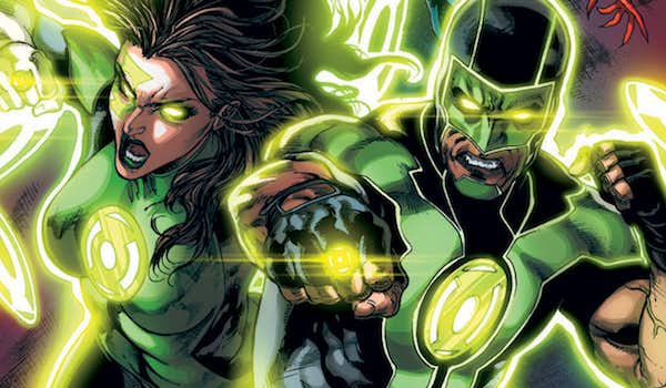 Simon Baz and Jessica Cruz as Green Lanterns