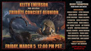 Jordan Rudess, Steve Lukather, Brian Auger, Rachel Flowers, Terje Mikkelsen and more join together online to remember legend Keith Emerson