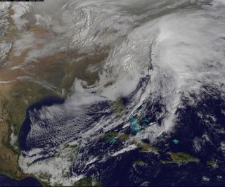 Winter Storm from Space Feb. 13, 2014