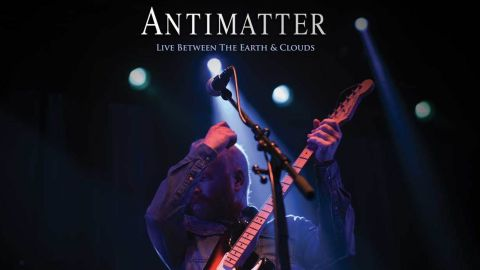 Antimatter - Live Between The Earth & Clouds DVD artwork