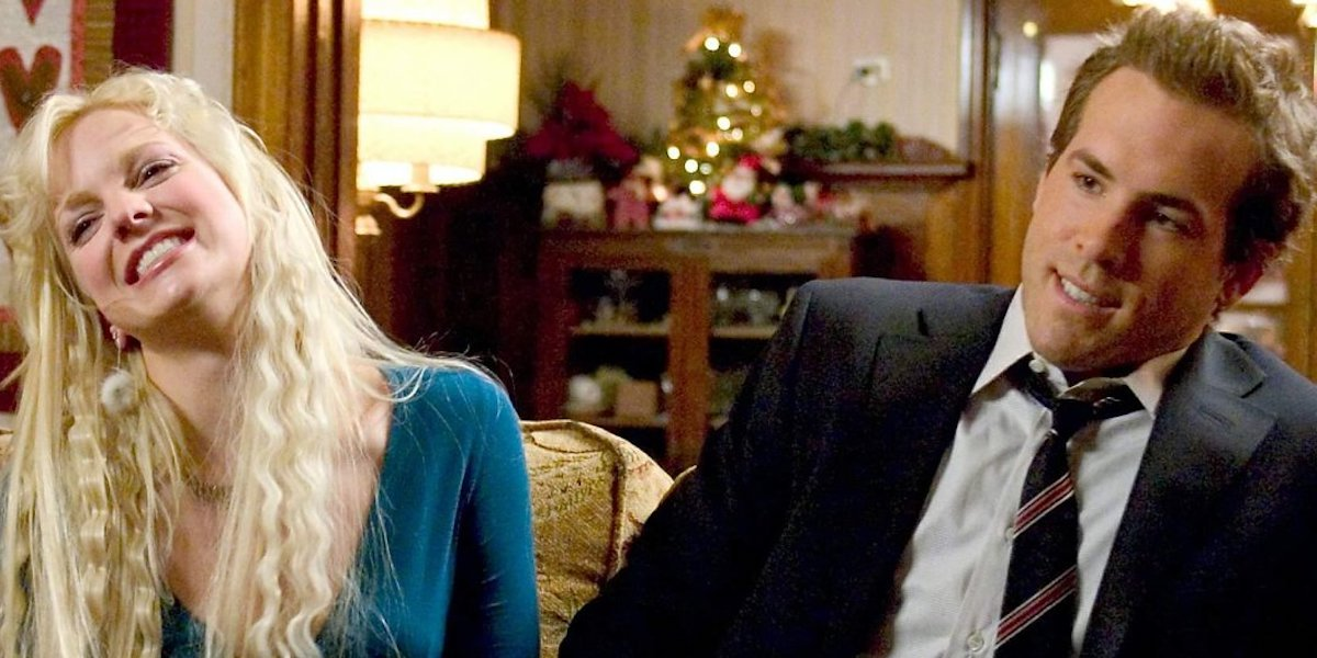 Anna Faris as Samantha James and Ryan Reynolds Chris Brander in Just Friends