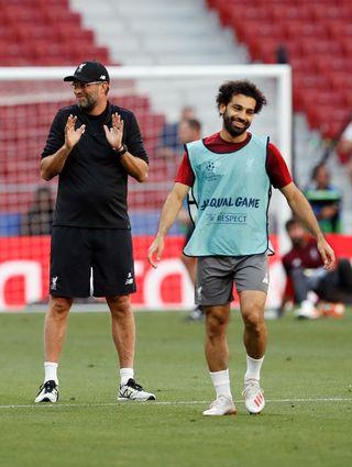Liverpool Training Session and Press Conference – Estadio Metropolitano