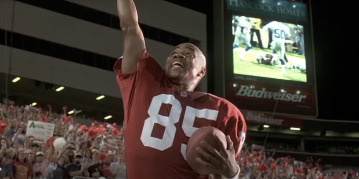 Cuba Gooding Jr. as Rod Tidwell in Jerry Maguire