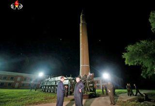 North Korea Fires Hwasong 14 Ballistic Missile