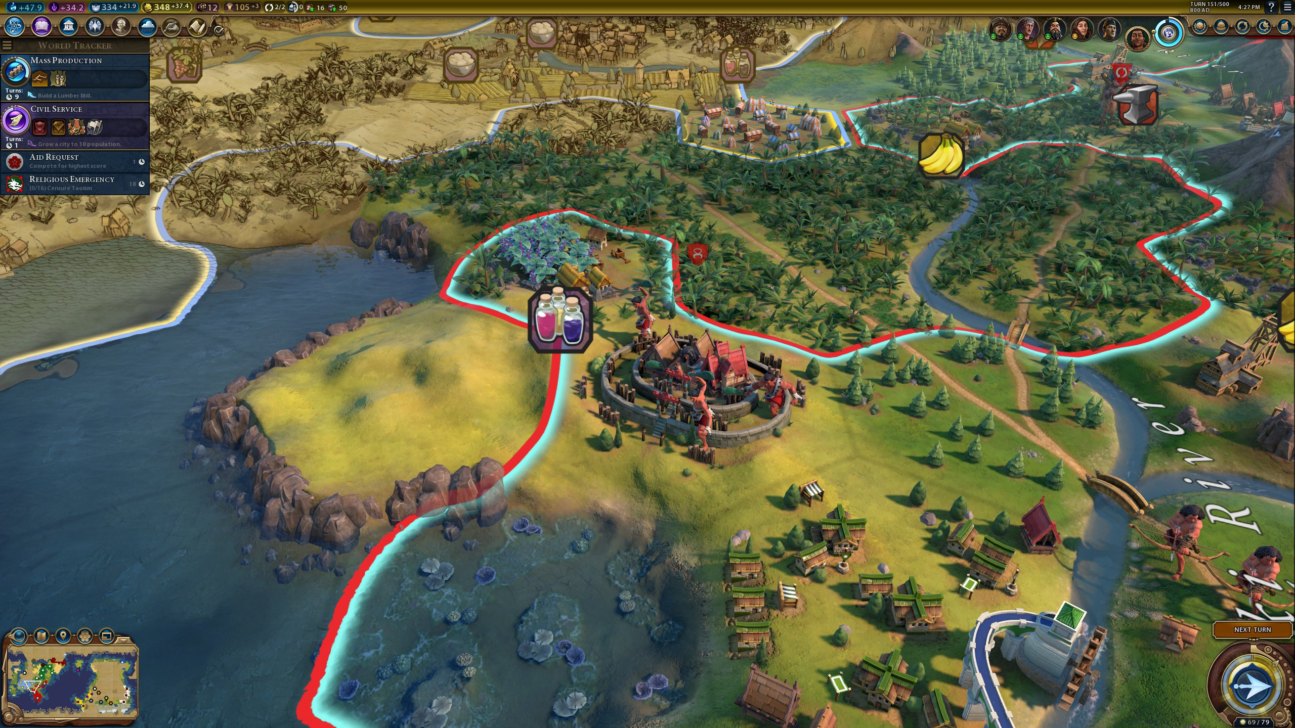Civ 6: Gathering Storm brings welcome drama to an increasingly busy