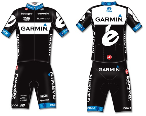 Garmin-Cervelo 2011 roster confirmed as team kit revealed - Cycling ... 24f0d2cad