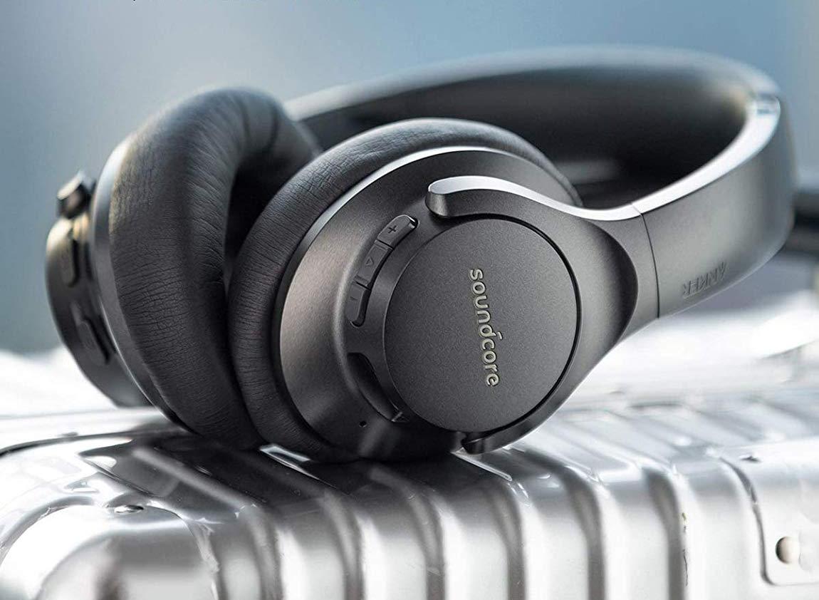 Melhores fones de ouvido com cancelamento de ruído baratos: Anker Life Q20 Wireless ANC Headphones