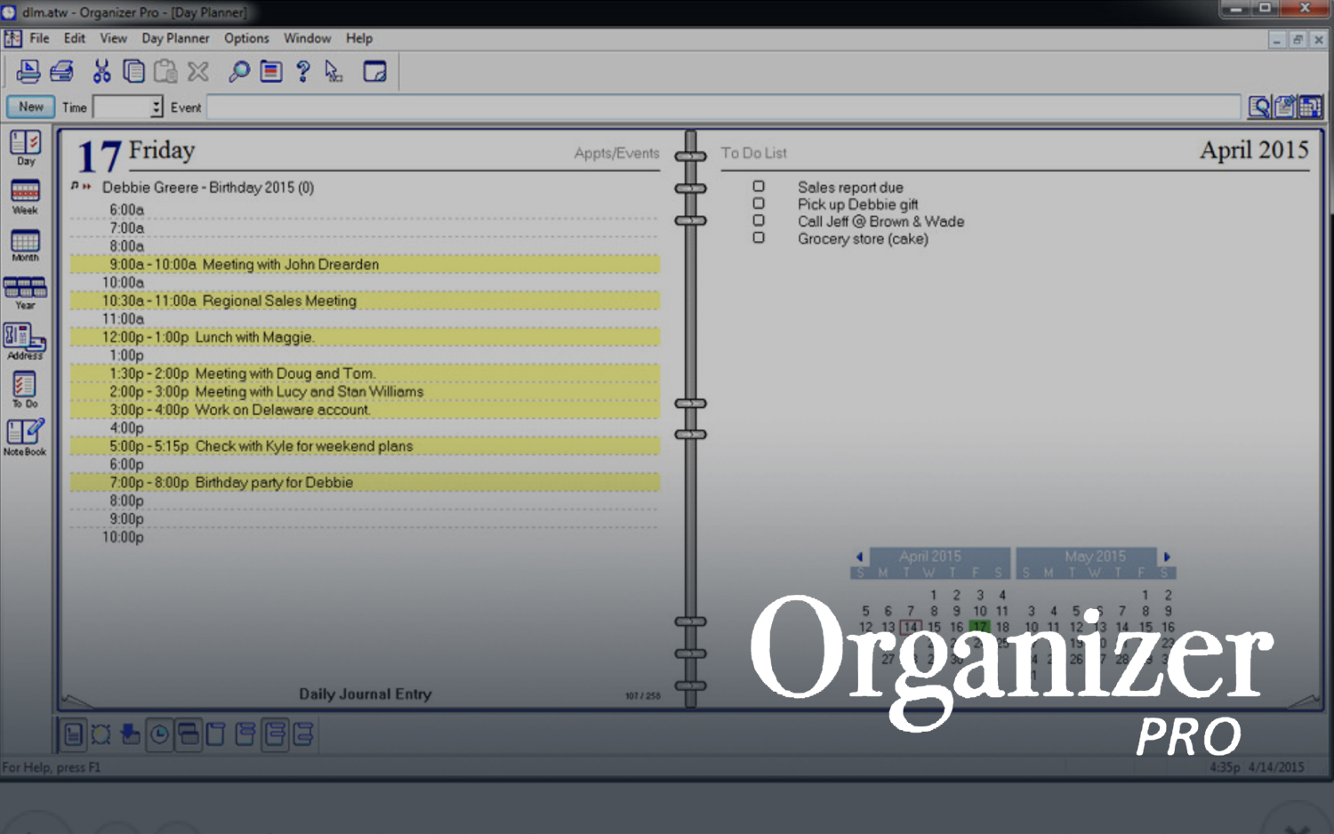 Best Organization Software 2019 - Daily Planner and