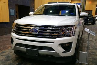A 2020 Ford Expedition on display in Wilmington Delaware, Oct. 6, 2019.