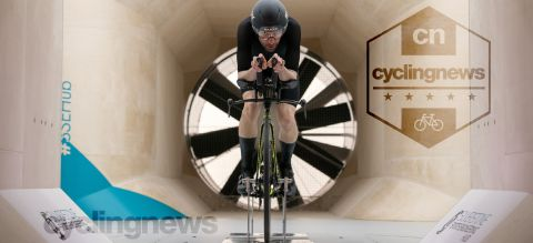 Le Col x McLaren Project Aero Speedsuit getting tested in the wind tunnel